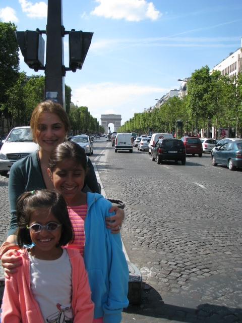 Priya and her nieces