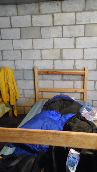Where I slept.