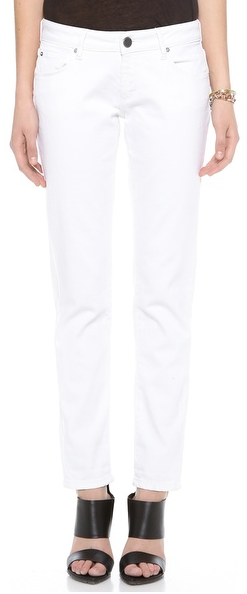 White Boyfriend Jeans by DL1961 I pretty much live in denim and these are the most comfortable jeans I own.