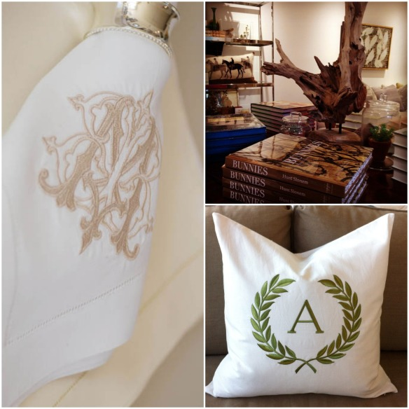 Linens Collage