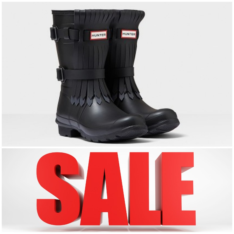 hunter boots on sale today only the shoe hive. Black Bedroom Furniture Sets. Home Design Ideas