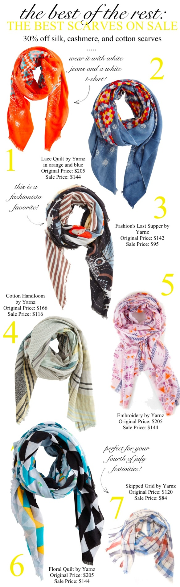Best Scarves on Sale