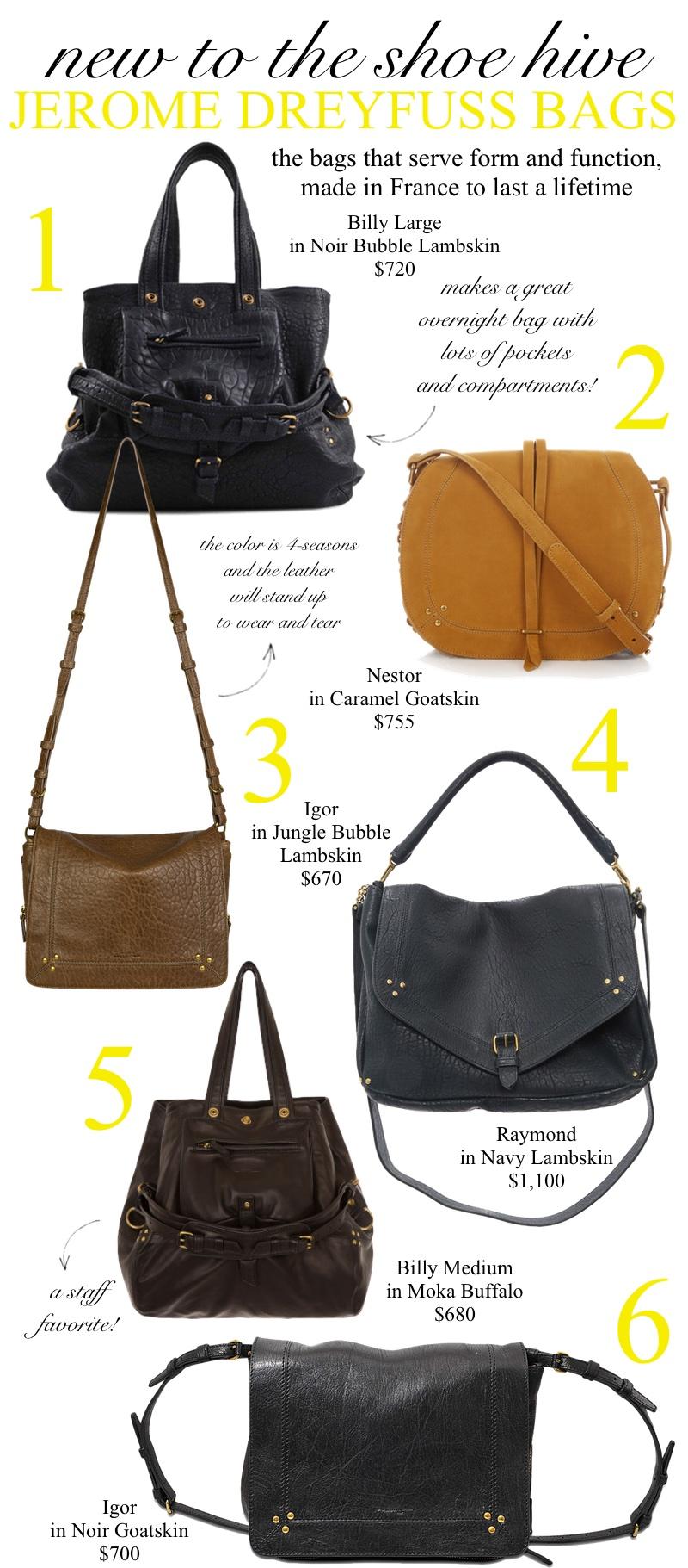 Jerome Dreyfuss Bags