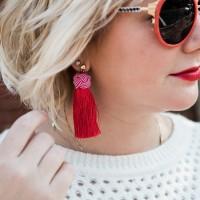 Coming Soon: Hart Hagerty Tassel Earrings
