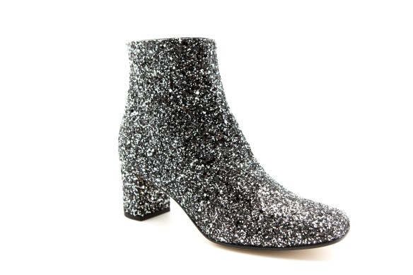 These glittery booties used in the first series of shots have been a customer favorite. Kate Spade, $375
