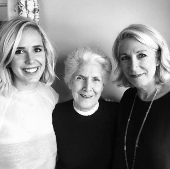 Diane Cotton on the right. Her mother is in the center, and her daughter on the left who is also a jewelry designer!